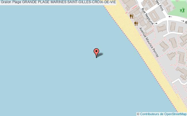 plan Grande Plage Marines Saint-gilles-croix-de-vie