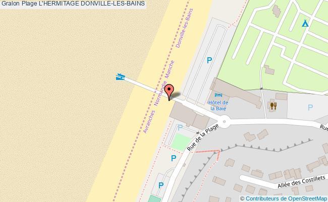 plan L'hermitage Donville-les-bains