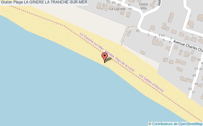 plan La Griere La Tranche-sur-mer