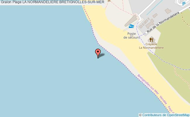 plan La Normandeliere Bretignolles-sur-mer