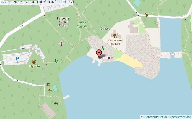 plan Lac De Tremelin Iffendic