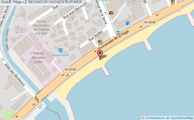 plan Le Mogador Cagnes-sur-mer