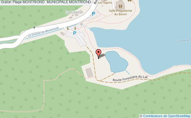 plan Montriond  Municipale Montriond