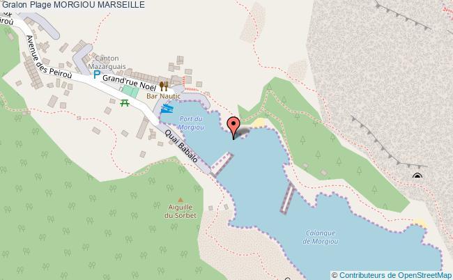 plan Morgiou Marseille