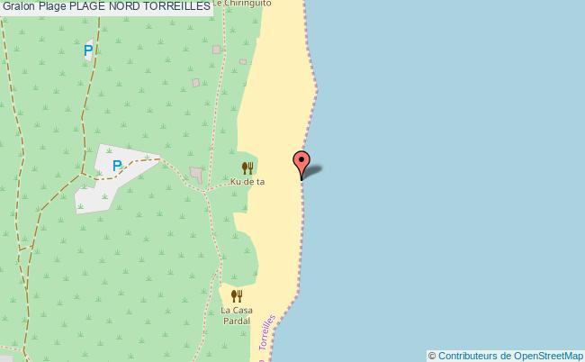 plan Plage Nord Torreilles