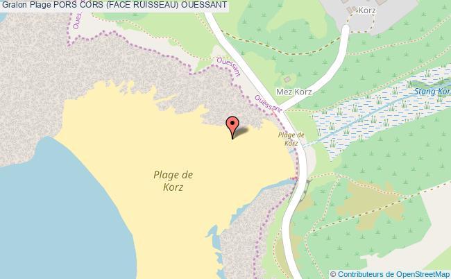 plan Pors Cors (face Ruisseau) Ouessant