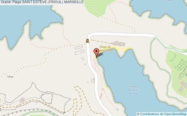 plan Saint Esteve (frioul) Marseille