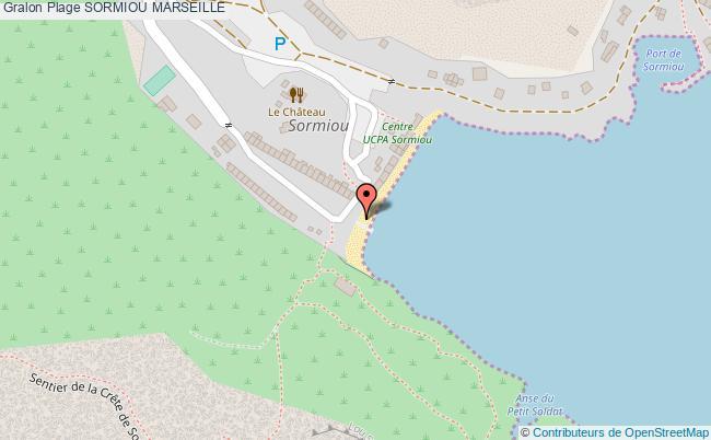plan Sormiou Marseille