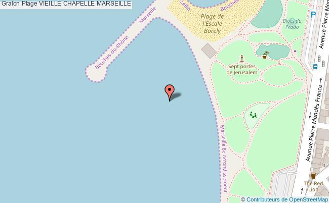 plan Vieille Chapelle Marseille
