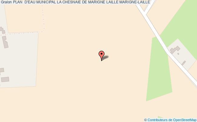 plan Plan  D'eau Municipal La Chesnaie De Marigne Laille Marigne-laille