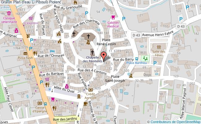 plan Plan D'eau Li Piboulo Piolenc