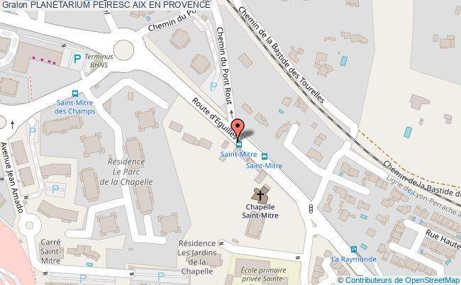 plan PlanÉtarium Peiresc Aix En Provence