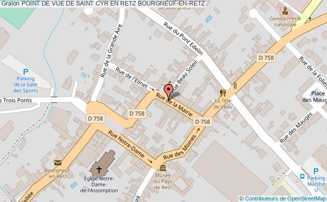 plan Point De Vue De Saint Cyr En Retz Bourgneuf-en-retz