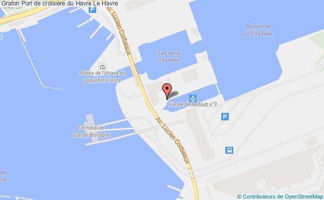 plan association Port De Croisière Du Havre Le Havre Le Havre