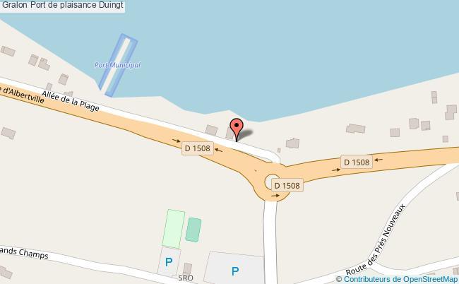 plan Port De Plaisance Duingt