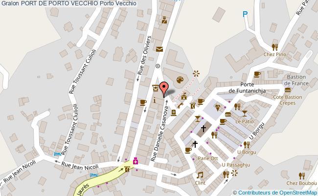 plan Port De Porto Vecchio Porto Vecchio