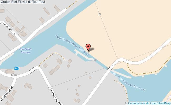 Port fluvial de toul toul tourisme for Toul 54200 plan