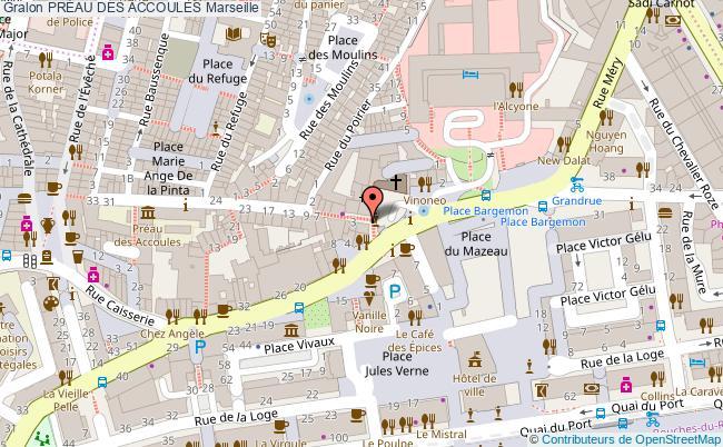 plan PrÉau Des Accoules Marseille