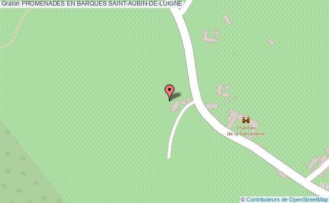 plan association Promenades En Barques Saint-aubin-de-luigne SAINT-AUBIN-DE-LUIGNE