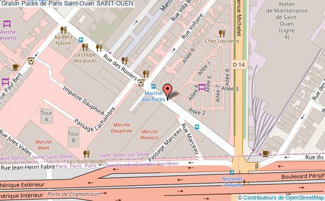 plan Puces De Paris Saint-ouen Saint-ouen
