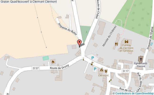 plan Quad'écouvert' à Clermont Clermont