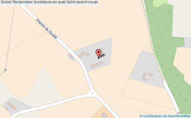 plan Randonnées Touristiques En Quad Saint-laurent-nouan