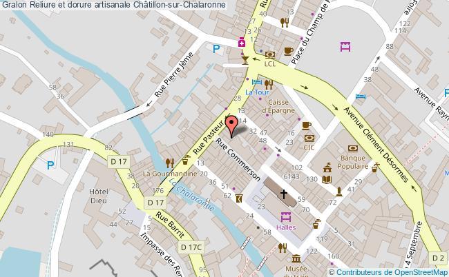 plan Reliure Et Dorure Artisanale Châtillon-sur-chalaronne