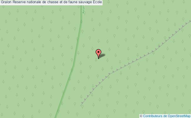 plan Reserve Nationale De Chasse Et De Faune Sauvage École