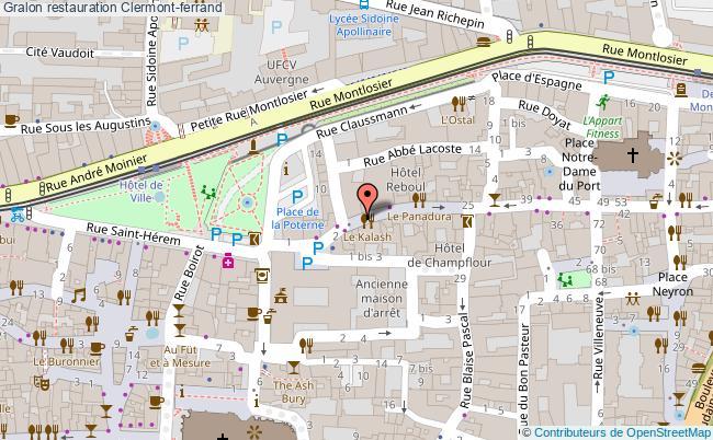 plan Restauration Clermont-ferrand