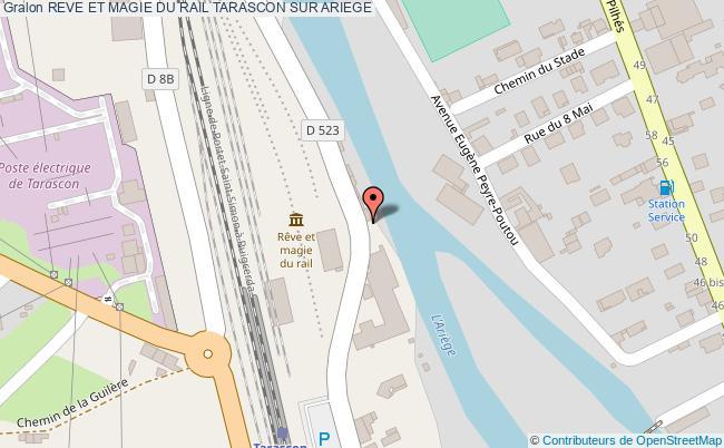 plan Reve Et Magie Du Rail Tarascon Sur Ariege