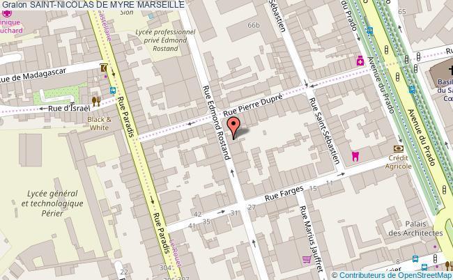 plan Saint-nicolas De Myre Marseille