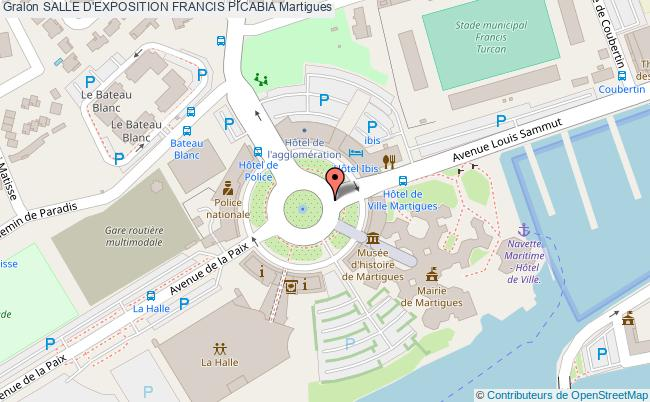 plan Salle D'exposition Francis Picabia Martigues