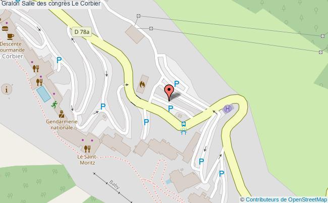 plan Salle Des Congrès Le Corbier