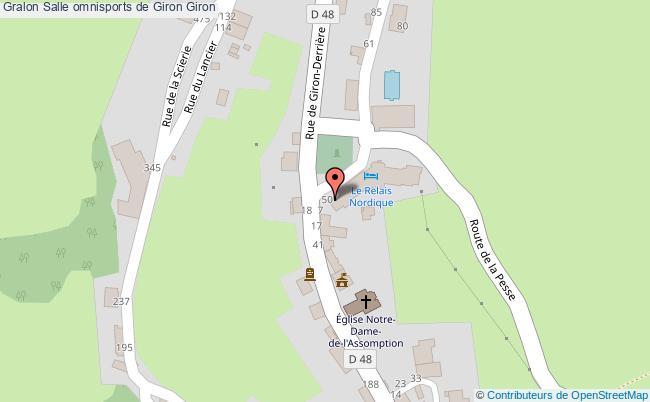 plan Salle Omnisports De Giron Giron