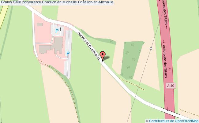 plan Salle Polyvalente Chatillon En Michaille Châtillon-en-michaille
