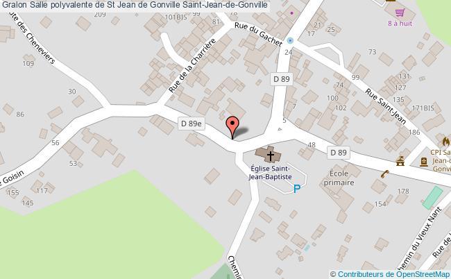 plan Salle Polyvalente De St Jean De Gonville Saint-jean-de-gonville