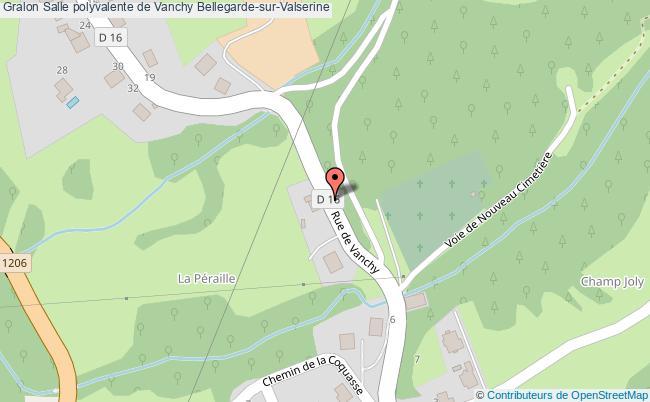 plan Salle Polyvalente De Vanchy Bellegarde-sur-valserine