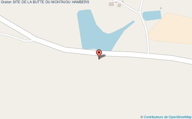 plan Site De La Butte Du Montaigu Hambers