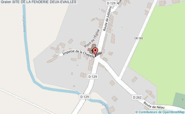 plan Site De La Fenderie Deux-evailles