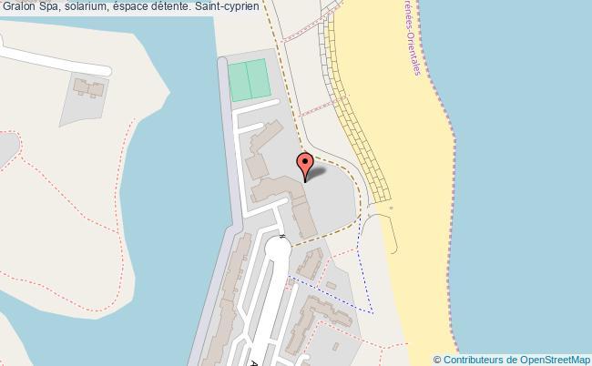 plan association Spa, Solarium, éspace Détente. Saint-cyprien Saint-cyprien