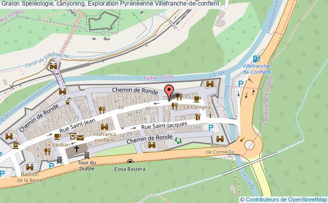 plan Spéléologie, Canyoning, Exploration Pyrénéenne Villefranche-de-conflent