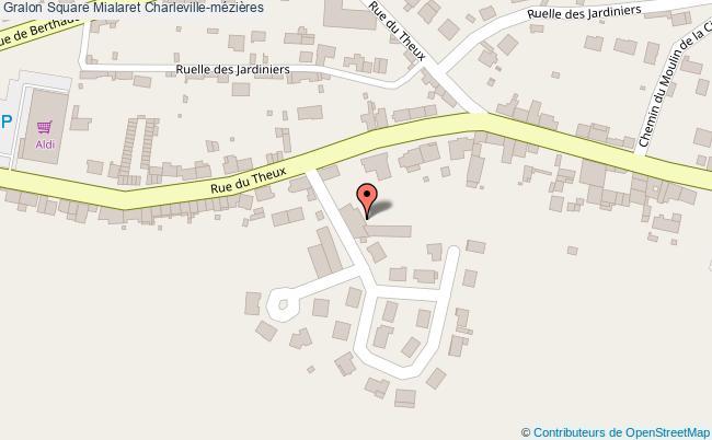 plan Square Mialaret Charleville-mézières