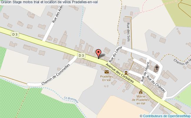 plan Stage Motos Trial Et Location De Vélos Pradelles-en-val