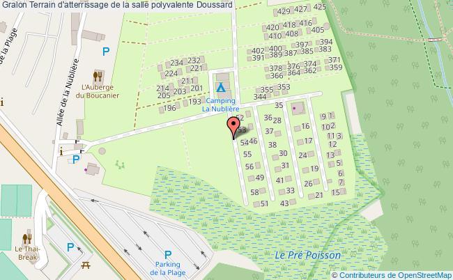 plan Terrain D'atterrissage De La Salle Polyvalente Doussard