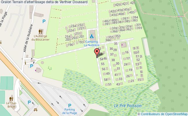 plan Terrain D'atterrissage Delta De Verthier Doussard