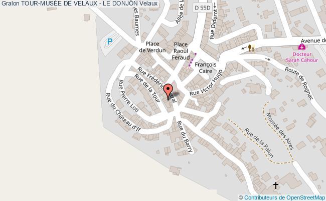 plan association Tour-musÉe De Velaux - Le Donjon Velaux Velaux