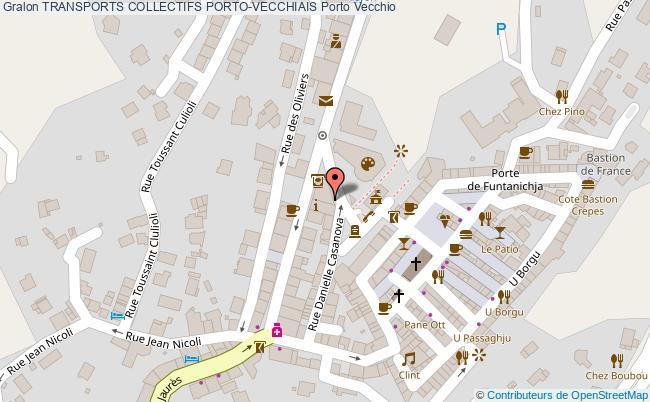 plan Transports Collectifs Porto-vecchiais Porto Vecchio