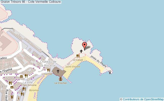 plan Trésors 66 - Cote Vermeille Collioure
