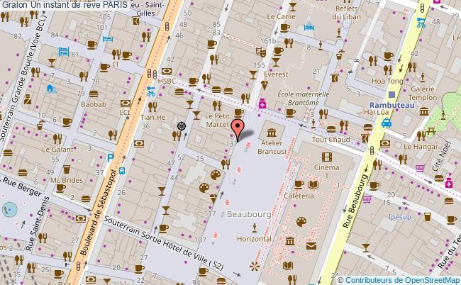plan association Un Instant De Rêve Paris PARIS