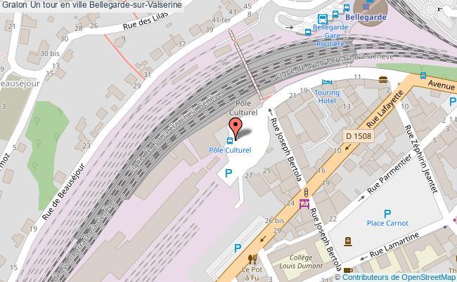 plan Un Tour En Ville Bellegarde-sur-valserine
